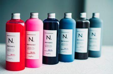 ナプラのエヌドットのカラーシャンプーの画像